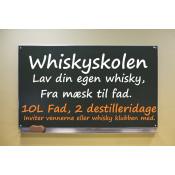 Whiskyskole lav din egen whisky fra mæskning til eget 10L fad.